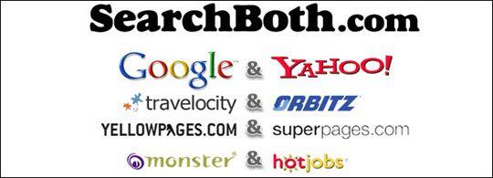 SearchBoth istodobno pretražuje Yahoo! i Google