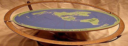 Svijet je ravna ploča.!?